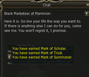 Good works reward 2st class transfer knowledge base lineage if you already did some of the 2nd class change quests he will refund you money depending on how many you did 1 mark 1 mil malvernweather Image collections